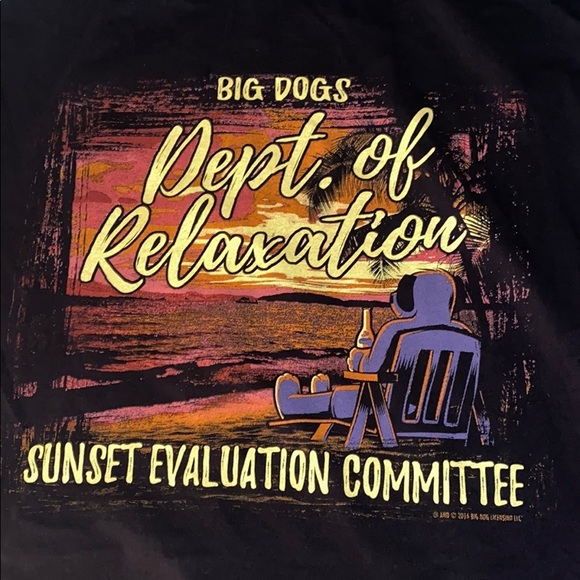 Big Dogs Other - Big dog relaxation shirt.